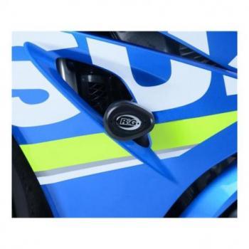 Tampons de protection R&G RACING Aero noir Suzuki GSX-R1000