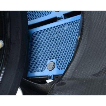 Protection de radiateur d'huile R&G RACING bleue BMW S1000RR