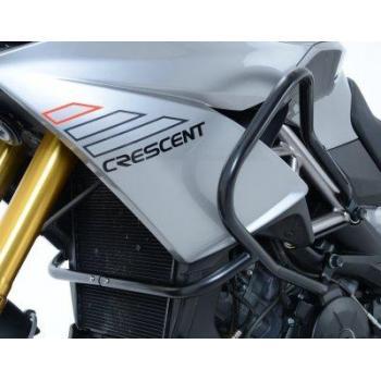 Protections latérales R&G RACING Adventure noir Aprilia 1200 Caponord