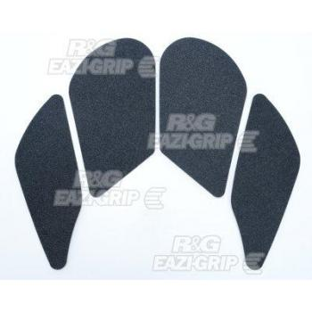 Kit grip de réservoir R&G RACING Eazi-Grip™ translucide