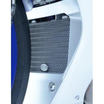 Protection de radiateur d'huile Dark Blue R&G RACING Yamaha YZF-R1