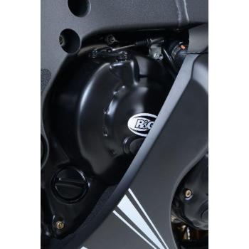 Couvre carter R&G RACING Race Series droit (embrayage) noir Kawasaki ZX10R