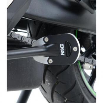 Patin de béquille R&G RACING argent Kawasaki Vulcan 650S