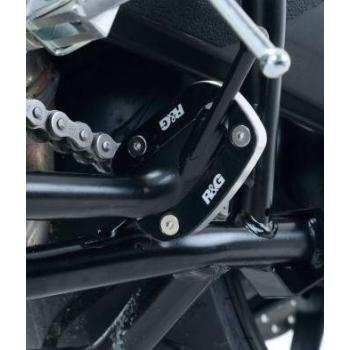 Patin de béquille R&G RACING argent Yamaha MT-09 Tracer