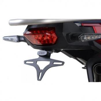 Support de plaque R&G RACING noir Honda Africa Twin Adventure Sport