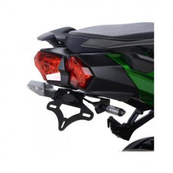 Support de plaque R&G RACING noir Kawasaki H2 SX