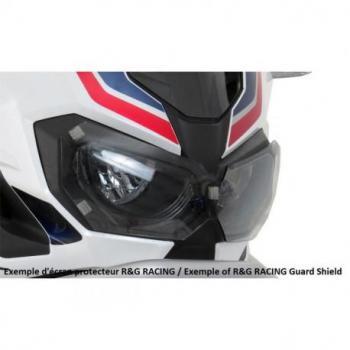 Ecran de protection feu avant R&G RACING translucide Kawasaki Z1000SX