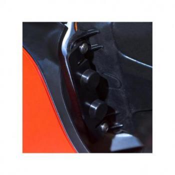 Protection de butée de direction R&G RACING noir Ducati Panigale V4