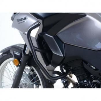 Protections latérales R&G RACING noir Kawasaki Versys X-300