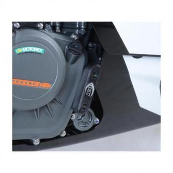 Slider moteur droit R&G RACING noir KTM RC390