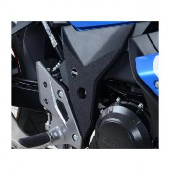 Adhésif anti-frottement R&G RACING cadre noir (2 pièces) Suzuki GSX-250R