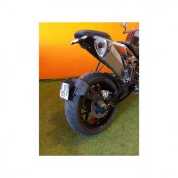 "Support de plaque ACCESS DESIGN ""ras de roue"" noir KTM Duke 790"