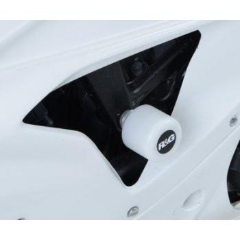 Tampons de protection R&G RACING Aero Race blanc BMW S1000RR