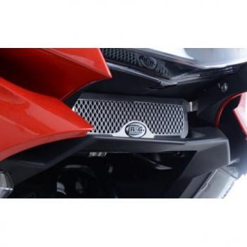Protection de Radiateur d'huile R&G RACING alu noir BMW K1600 GT