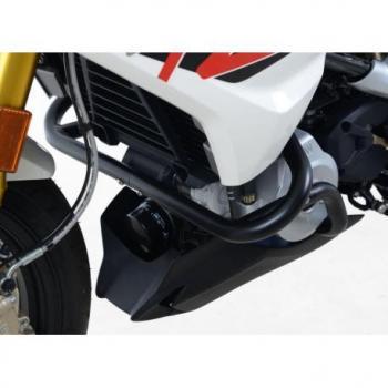 Protections latérales R&G RACING noir BMW G310R