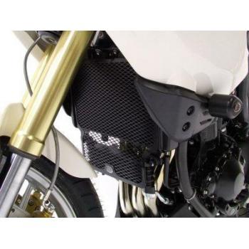 Protection de radiateur (eau & huile) R&G RACING noir Triumph Tiger 1050/Sport
