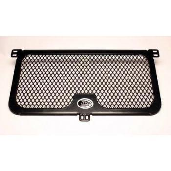 Protection de radiateur (huile) R&G RACING noir BMW S1000R/RR/XR