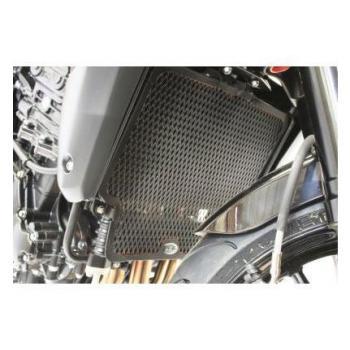 Protection de radiateur (eau & huile) R&G RACING noir Triumph Speed Triple 1050