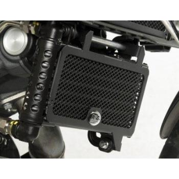 Protection de radiateur R&G RACING noir Aprilia Dorsoduro 1200