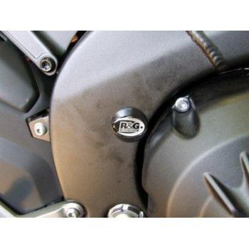 Insert de cadre gauche/droit R&G RACING noir Yamaha YZF-R1