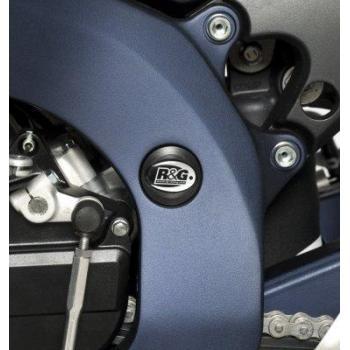 Insert de cadre gauche (haut) R&G RACING noir Suzuki GSX-R600/750