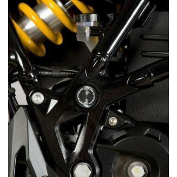 Insert de cadre droit R&G RACING noir BMW/Husqvarna