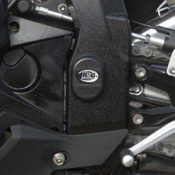 Insert de cadre gauche R&G RACING noir BMW S1000RR