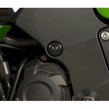 Insert de cadre R&G RACING noir Kawasaki ZZR1400