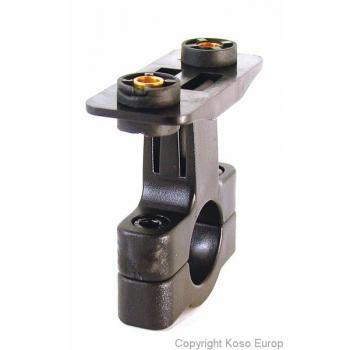 Support de compteur Ø22.2mm Koso pour montage XR-SA/SE/SH