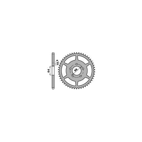 Couronne PBR 37 dents acier standard pas 520 type 254