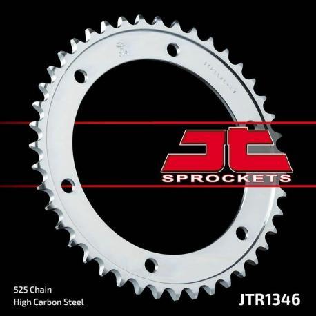 Couronne JT SPROCKETS 43 dents acier standard pas 525 type 1346