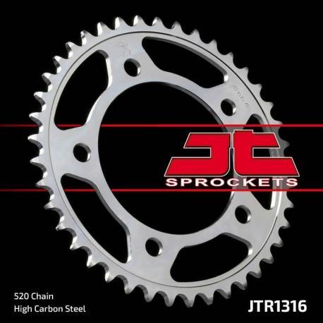 Couronne JT SPROCKETS 41 dents acier standard pas 520 type 1316