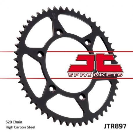 Couronne JT SPROCKETS 51 dents acier standard pas 520 type 897