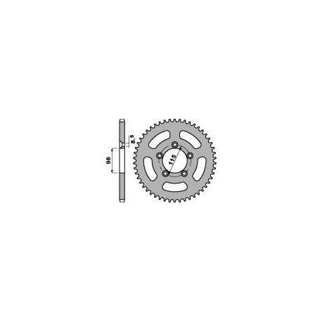 Couronne PBR 46 dents acier standard pas 420 type 4552