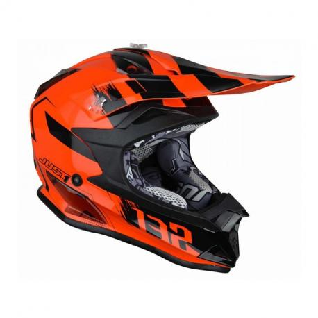Casque JUST1 J32 Pro Kick Orange Gloss taille YS