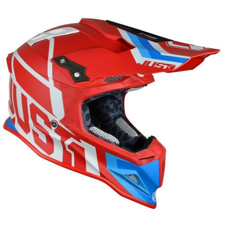 Casque JUST1 J12 Unit Red/White taille L