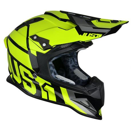 Casque JUST1 J12 Unit Neon Yellow taille L
