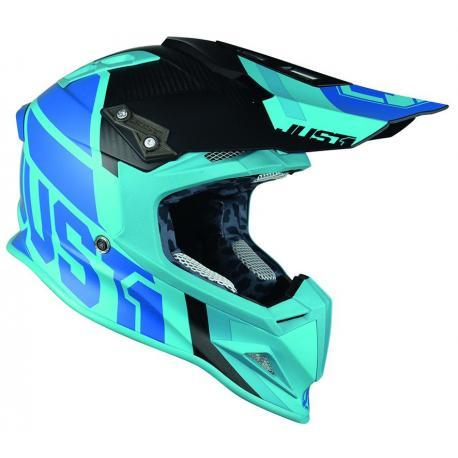 Casque JUST1 J12 Unit Light Blue taille XL