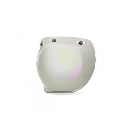 Ecran bubble BELL Custom 500 iridium argent