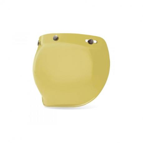 Ecran bubble BELL Bullitt jaune Hi-Def