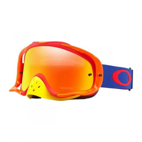 Masque OAKLEY Crowbar Blue Red écran Fire Iridium