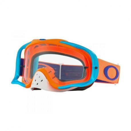 Masque OAKLEY Crowbar Orange/Blue écran transparent