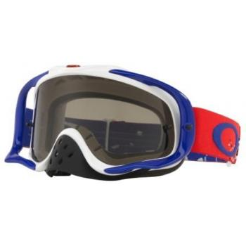 Masque OAKLEY Crowbar Checked Finish écran Dark Grey