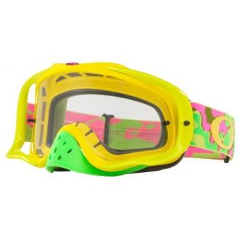 Masque OAKLEY Crowbar Thermo Camo PYG écran transparent