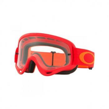 Masque OAKLEY O Frame rouge/orange écran transparent