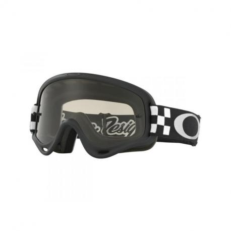 Masque OAKLEY XS O Frame Troy Lee Designs Checker écran Dark grey