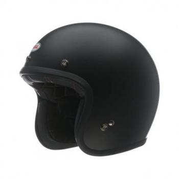 Casque BELL Custom 500 Solid noir mat taille XS