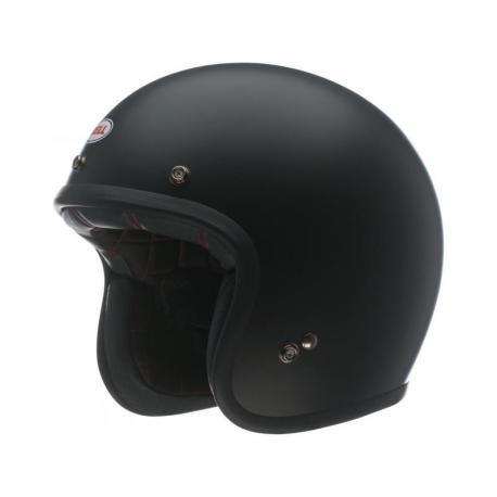 Casque BELL Custom 500 Solid noir mat taille S