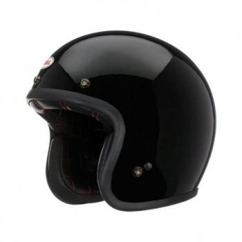 Casque BELL Custom 500 Solid noir taille L