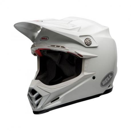 Casque BELL Moto-9 Flex Solid White taille M